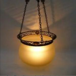 PartyLite Paris Retro Hanging Candle Lamp New